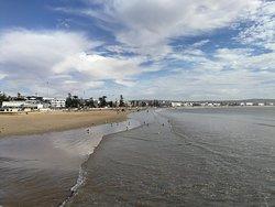 Spiaggia mediocre
