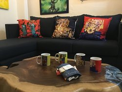 Custom Designs furniture, functional art, Local artists, handmade souvenirs, jewlery and more..