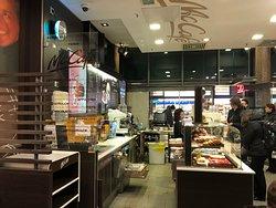 McCafe order counter