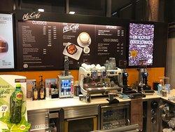McCafe - order counter