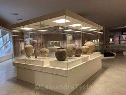 Una stanza del museo archeologico di Sanliurfa