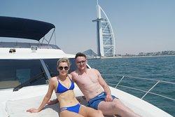 Yacht cruise to the Burj al Arab