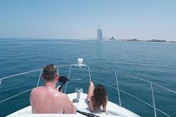 Cruising to the Burj al Arab