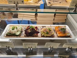 Great open sandwiches