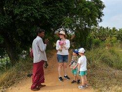 Nice to meet local community at Nilagama Village