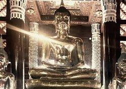 Budhha's Dhyana Mudra (Meditation) - Wat Lok Molee