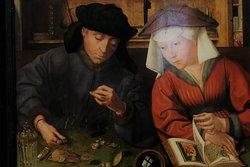 Le Prêteur et sa femme - Metsys