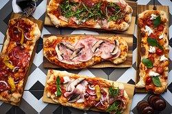 Scrocchiarella pizza