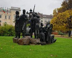 Nice statues