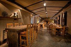 Restaurant La Vid tiene un ambiente de diseño exclusivo