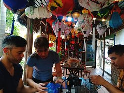 Hoi An Latern Making Class & Hoi An Walking Tour