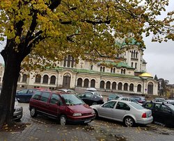 St Alexander Nevsky Cathedral in square
