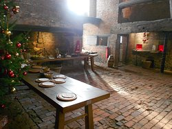The Medieval Kitchen at Gainsborough Old Hall