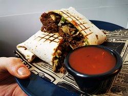 Deliciosos Burritos ternera y aguacate!