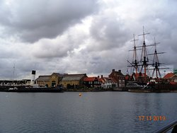 Wingfield Castle and HMS Trincomalee