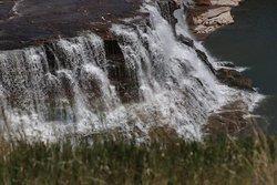 A waterfall!