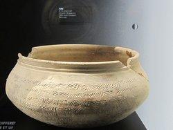Musée Emile Chénon - Archéologie Gallo-Romaine. Vue 114. Jolie Jatte avec Motifs Griffés. Châteaumeillant Mediolanum.