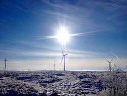 Turbines in the sun