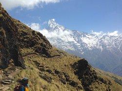 Wonderful trek, wonderful guide
