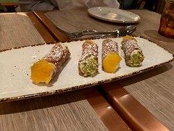 Cannoli--The Factory Kitchen--3355 Las Vegas Blvd. S--Las Vegas, NV