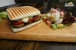 Our Green Feast Panini