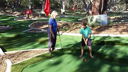 18 hole mini golf is always fun.