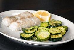 Filetto di merluzzo con zucchine!🍛