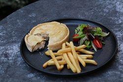 mushroom and beef pie