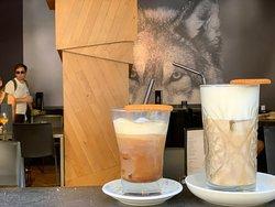 Cafés con hielo