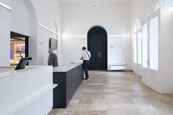 """Foyer im """"Haus der Weimarer Republik - Forum für Demokratie"""""""