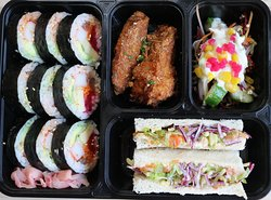 Gimbap Box for outing, lunch and dinner for group