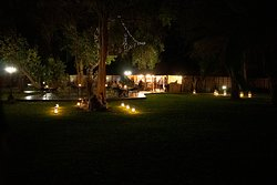Nighttime at Kilima Private Game Reserve and Spa