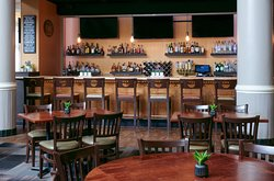 FINS Kitchen & Bar; featuring all American cuisine in a nostalgic friendly environment.