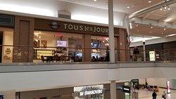 Upper Level in Natick Mall