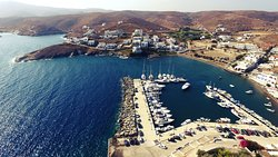 Greek Harbor photo from the drone.