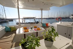 Ready for some breakfast at your boat
