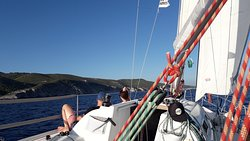 daily sailing tours from island vis, croatia