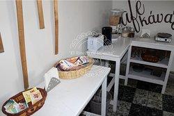 Barra de Cafe y desayuno continental