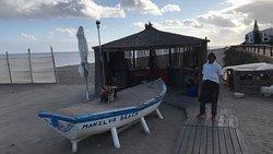 Grillplatz neben dem Chiringuito