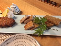 Fish cakes (3 different kinds)