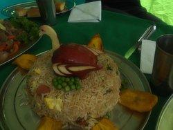 comida decorada