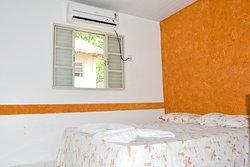 Ar condicionado nos quartos