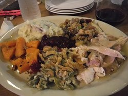 Thanksgiving turkey dinner at Corsairs