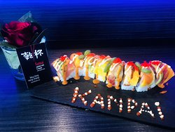 Kanpai's delicious and fresh sushi