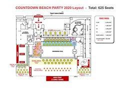 Countdown beach party 2020