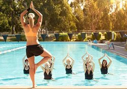 Do you like yoga? Then i want to recommend you a nice place to have yoga class