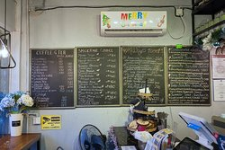Summer Cafe & Bar, Coron - menu, floor 1
