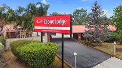Main Entry to the Econo Lodge Border Gateway Wodonga