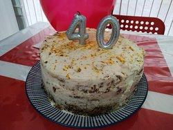 Carrot cake cumpleaños