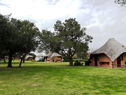 48 Electrified Camping Stands, each with private bathroom facilities. Swimming Pool; Games Lapa (Pool Table & Table Tennis); Jungle Gyms; Free Wi-Fi